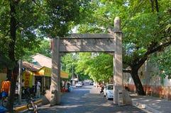 Tempio di Xuanzang, Nanchino, Cina fotografie stock libere da diritti