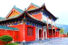 Tempio di Yongfu in Yongzhou Fotografie Stock Libere da Diritti
