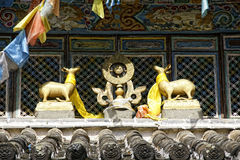 Tempio di Yufeng Fotografia Stock Libera da Diritti