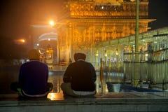 Tempio dorato - Amritsar Immagini Stock