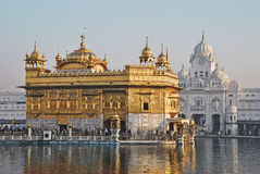 Tempio dorato; Amritsar Fotografia Stock