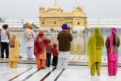 Tempio dorato a Amritsar, India Fotografia Stock Libera da Diritti