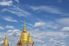 Tempio dorato della pagoda Immagini Stock Libere da Diritti
