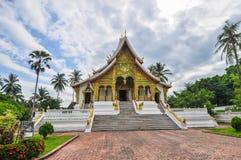 Tempio dorato della parete immagine stock