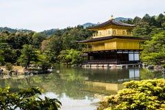 Tempio dorato 4 di Kinkakuji Fotografie Stock