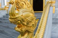 Tempio e cultura tailandese Fotografia Stock
