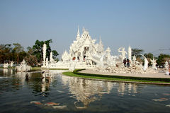 Tempio e riflessioni Fotografie Stock Libere da Diritti