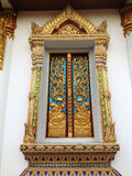 Tempio elegante Windows Fotografia Stock Libera da Diritti