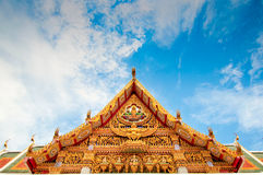 Tempio famoso a Bangkok Tailandia Fotografie Stock