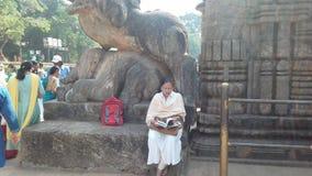 Tempio famoso del sole di Anicient al odissa India del konarak fotografia stock