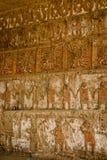 Tempio famoso del Sun e della luna - Huaca del sol y Luna, Trujillo, Perù Immagine Stock