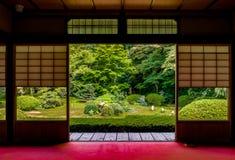 Tempio giapponese Unryu a Kyoto immagini stock libere da diritti
