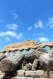 Tempio greco doric antico in Selinunte Fotografia Stock Libera da Diritti