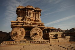 Tempio Hampi il Karnataka India di Vitala immagine stock