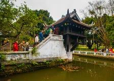 Tempio a Hanoi Fotografia Stock Libera da Diritti