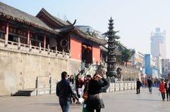 Tempio Hefei Cina di Mingjiao immagine stock libera da diritti