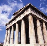 Tempio Hephaisteion, Grecia, Atene Agora antico atene fotografia stock libera da diritti