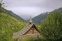 Tempio indù antico in Himalaya Immagini Stock Libere da Diritti