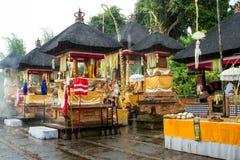 Tempio indù dall'interno Fotografie Stock