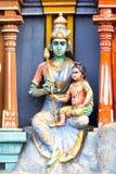 Tempio indù della dea, Chennai, Tamil Nadu, India del sud Immagini Stock Libere da Diritti