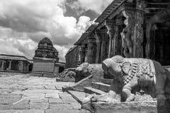 Tempio indù di Hampi Fotografie Stock Libere da Diritti