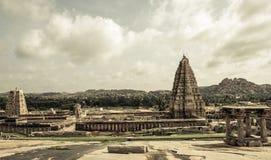 Tempio indù di Hampi Immagine Stock