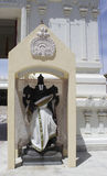 Tempio indù di Malibu - destra della statua Fotografia Stock Libera da Diritti