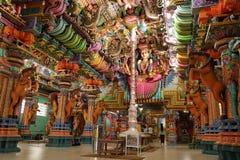 Tempio indù di Trincomalee nello Sri Lanka fotografia stock