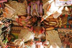 Tempio indù di Trincomalee nello Sri Lanka fotografia stock libera da diritti