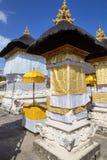 Tempio indù festivo decorato, Nusa Penida Toyopakeh, prov bali l'indonesia Fotografie Stock Libere da Diritti