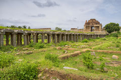 Tempio indù, Hampi, stato del Karnataka, India Fotografia Stock
