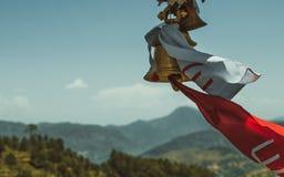 Tempio indù in montagne Fotografia Stock Libera da Diritti