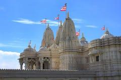 Tempio indù Shri Swaminarayan Mandir di Toronto Immagine Stock