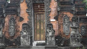 Tempio indù su Bali Fotografia Stock