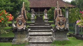 Tempio indù Tirta Gangga su Bali Tempiale indù Immagini Stock Libere da Diritti