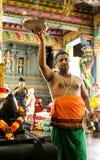 Tempio indù in Victoria Mahe Seychelles Fotografia Stock Libera da Diritti