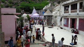 Tempio indiano del mahadev Fotografia Stock