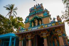 Tempio indiano sulla via Mawlamyine myanmar burma immagine stock libera da diritti