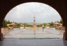 Tempio jain di nareli di Ajmer Fotografie Stock Libere da Diritti