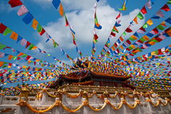 Tempio Jinyu Guanyin di Sanya Nanshan Buddhist Fotografia Stock