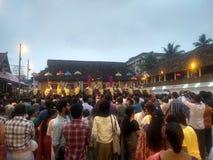 Tempio Kerala giusto fotografia stock libera da diritti