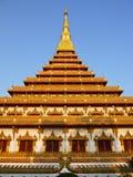 Tempio in Khonkaen Fotografia Stock