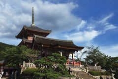 Tempio - Kyoto - Giappone fotografie stock