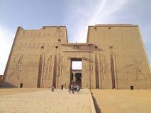 Tempio; L'Egitto Fotografia Stock Libera da Diritti