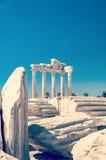 Tempio laterale di Apollo Ruins Fotografia Stock Libera da Diritti