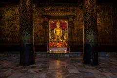 Tempio in Luang Prabang Fotografia Stock