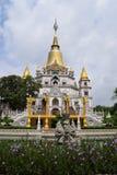 Tempio lungo di Buu nella città di Ho Chi Minh, Vietnam Fotografia Stock Libera da Diritti