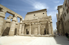 Tempio Luxor, Egitto Fotografie Stock Libere da Diritti