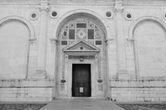 Tempio Malatestiano Royalty Free Stock Photo