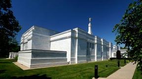 Tempio mormonico Fotografie Stock